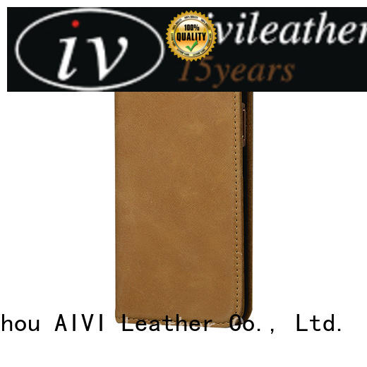 AIVI personalized quality leather iphone case supply for ipone 6/6plus