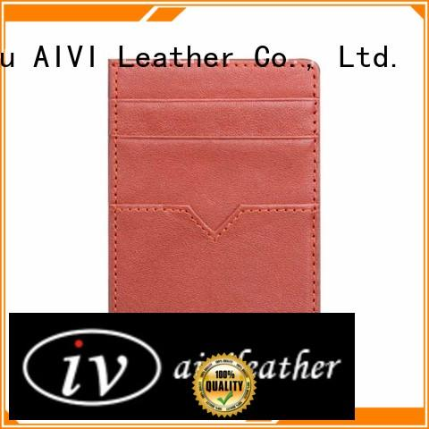 bags leather card wallet genuine iphone X AIVI