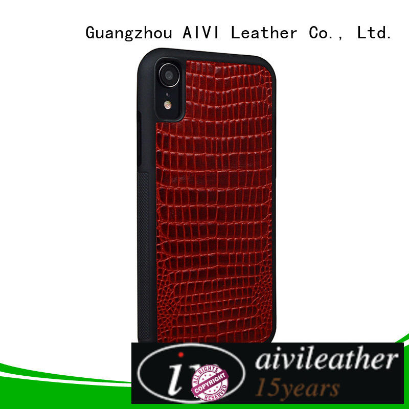 AIVI apple iphone cover leather accessories for iphone XS Max
