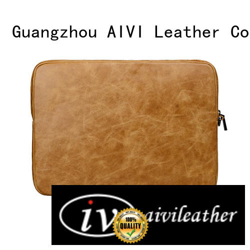 AIVI air leather notebook case easy to carry for travel