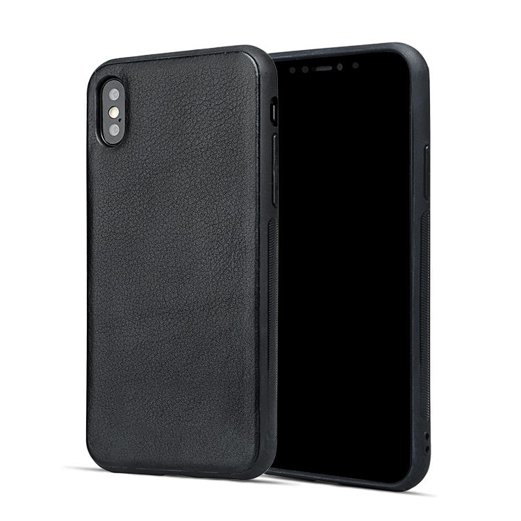 For Apple Genuine Leather Case Durable Fashionable Phone Case For Iphone X/XS-3