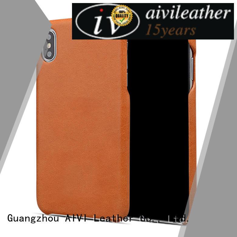 top premium leather iphone case cases for ipone 6/6plus AIVI