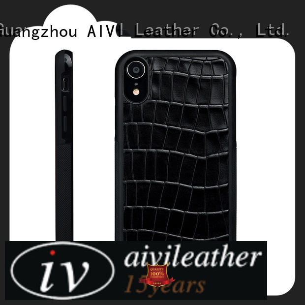 customize leather mobile phone covers for iPhone XR for iphone 8 / 8plus