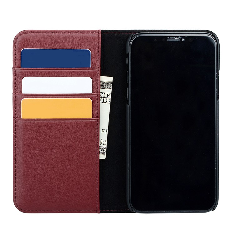 convenient luxury leather phone cases online for iphone XS Max-1