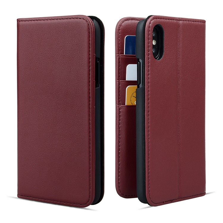 convenient luxury leather phone cases online for iphone XS Max-2