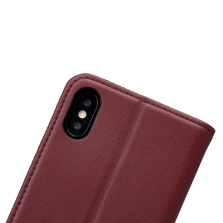 holder blue leather iphone case online for iphone XR AIVI
