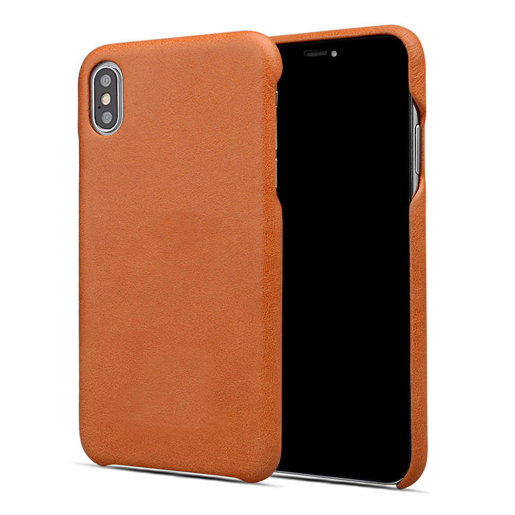 Personalised Leather Phone Case Genuine cow Leather for iphone XS MAX