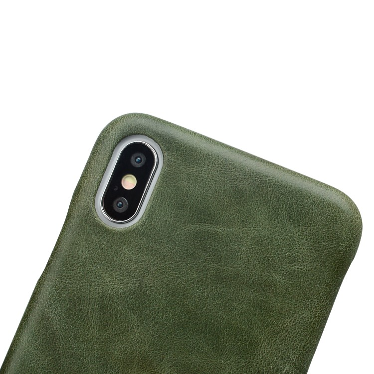 AIVI brown custom leather iphone case for iphone XS-5