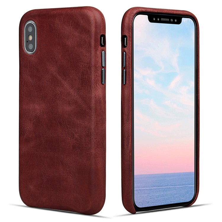 AIVI customized genuine leather iphone case accessories for iphone XS-7