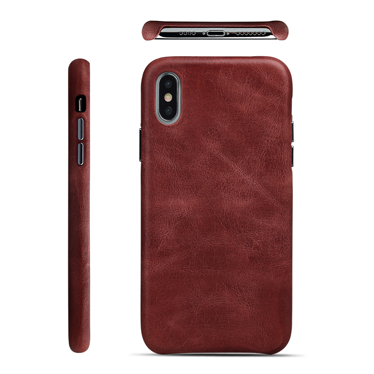 AIVI customized genuine leather iphone case accessories for iphone XS-8