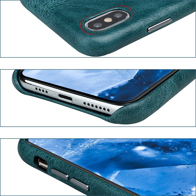 convenient custom leather phone case card for iPhone XS Max for iphone 7/7 plus-5