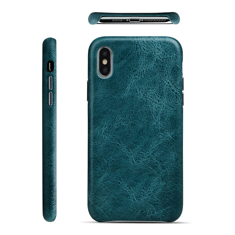 Custom Leather Iphone Case New Full Grain For Iphone Xs Max