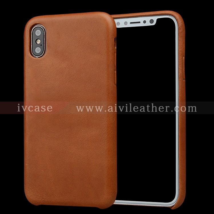 AIVI reliable apple genuine leather case accessories for iphone X
