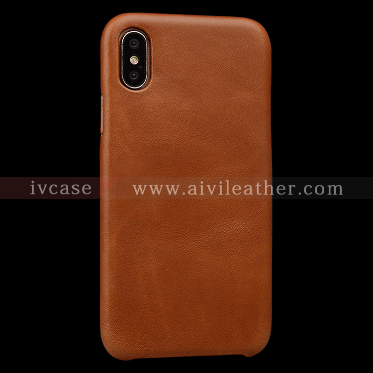 AIVI reliable apple genuine leather case accessories for iphone X-6