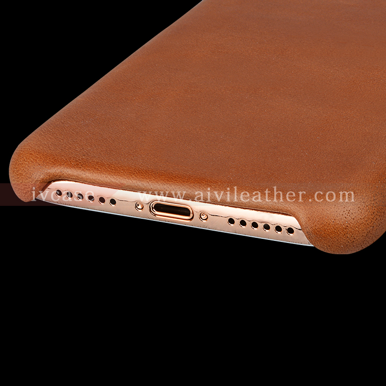 AIVI reliable apple genuine leather case accessories for iphone X-9