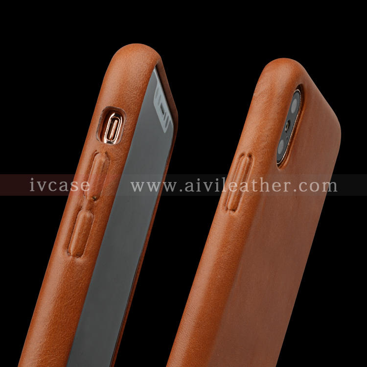 For Apple Leather Case Protection Custom Phone Case For iPhone XS