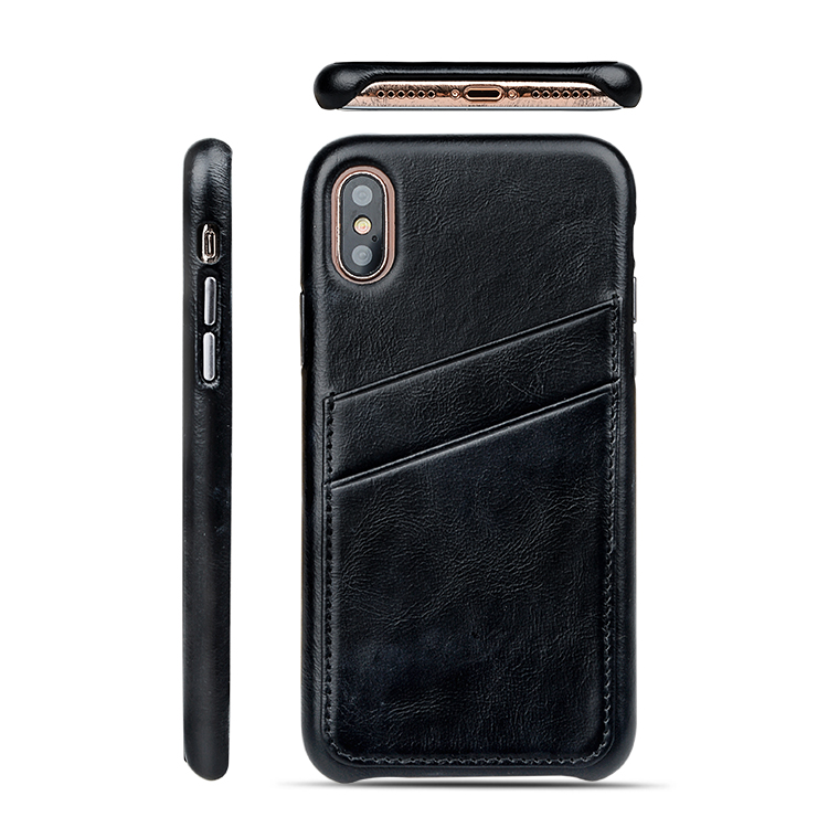 AIVI waterproof iphone leather flip case accessories for iphone X-1