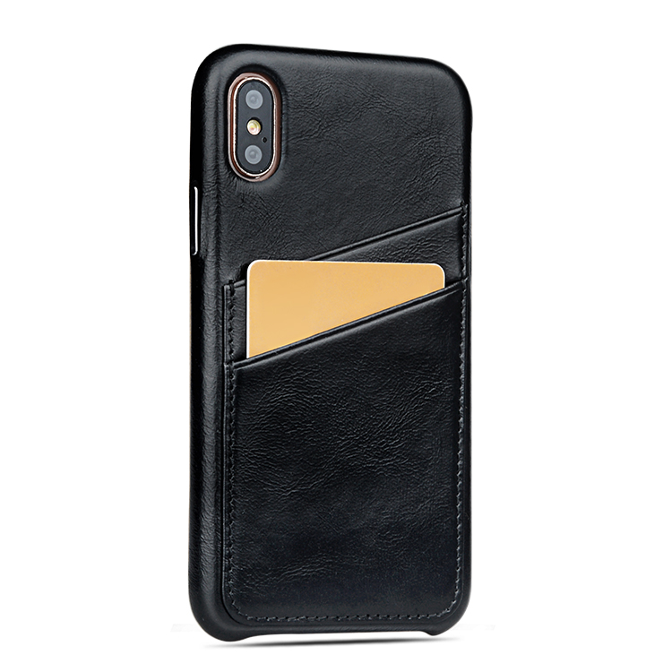 AIVI personalized apple tan leather case factory for iphone X-7