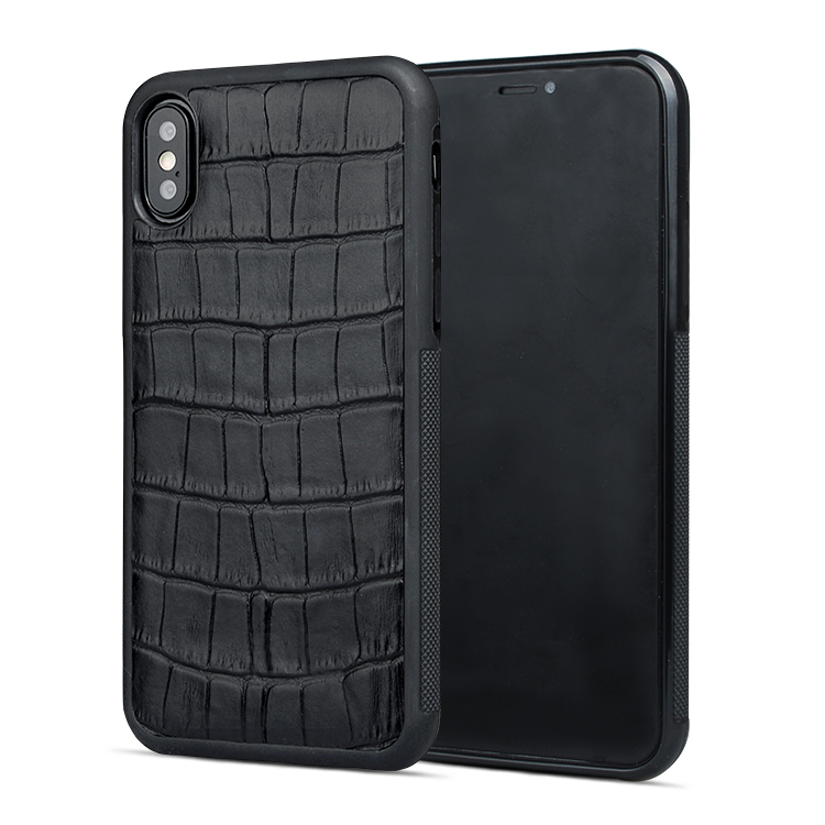 Custom Made Leather Iphone Cases Business Phone Case For Iphone XS-1