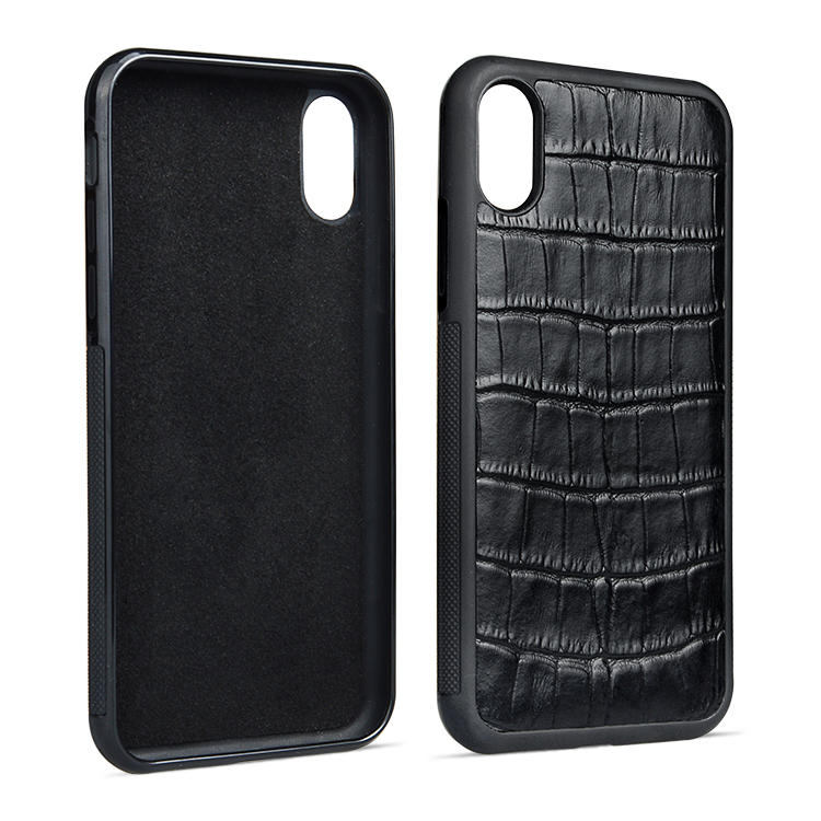 Custom Made Leather Iphone Cases Business Phone Case For Iphone XS