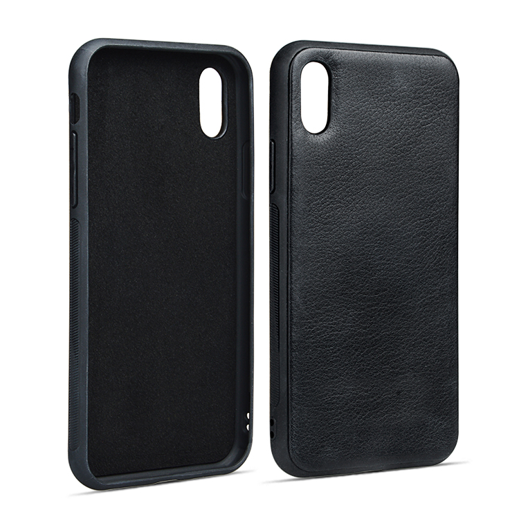 For Apple Genuine Leather Case Durable Fashionable Phone Case For Iphone X/XS-8