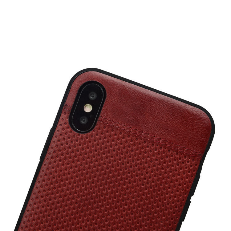 AIVI waterproof slim leather iphone case protector for iphone XR-5