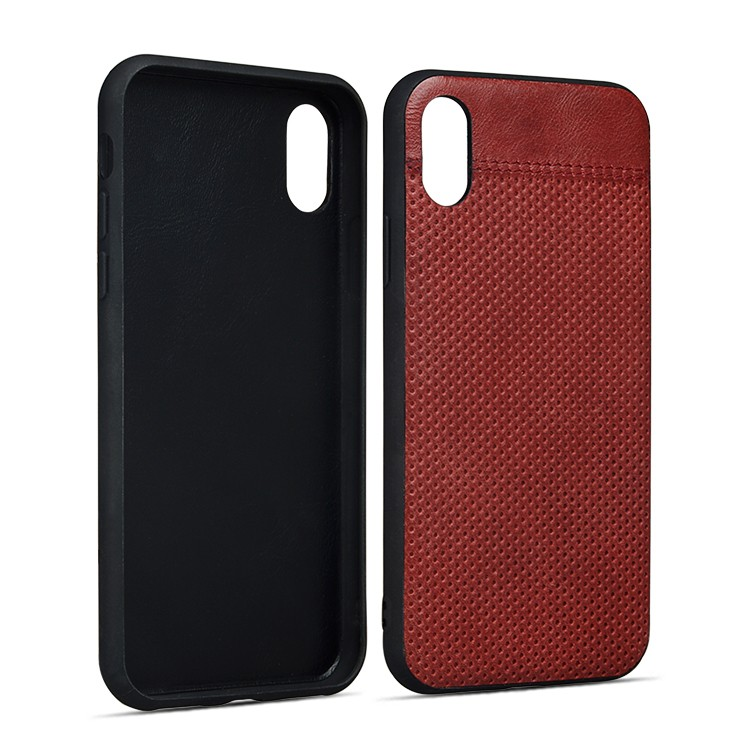AIVI waterproof slim leather iphone case protector for iphone XR-8