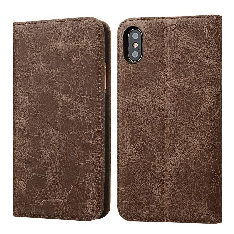 AIVI customized apple original leather case manufacturer for phone XS Max