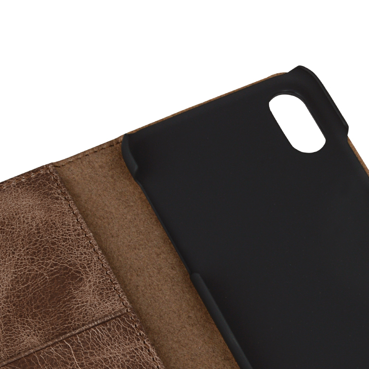 AIVI protection apple tan leather case protector for iphone XR-9