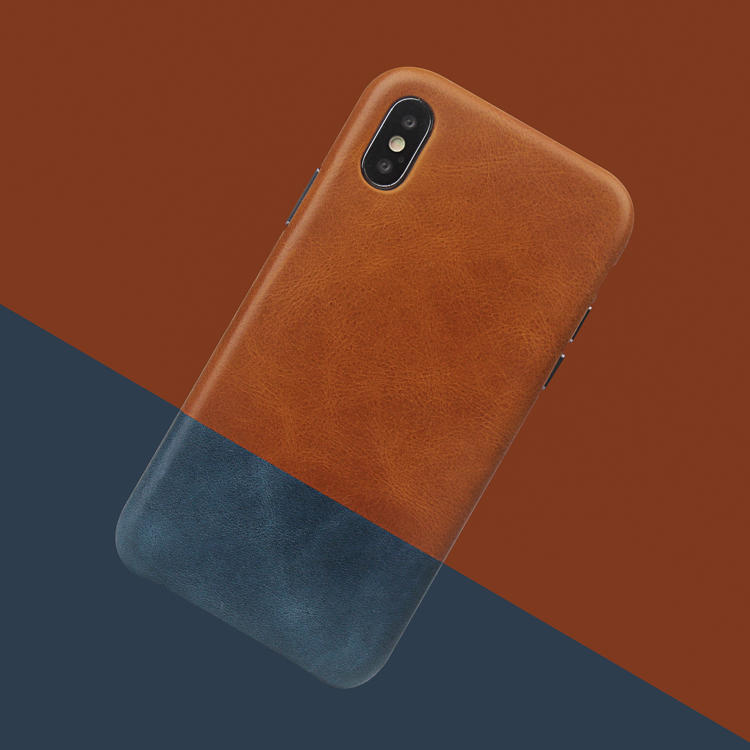 New Full Grain Genuine Leather Phone Case For Iphone XS/XS MAX