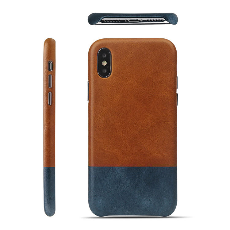 protective luxury leather phone cases flip protector for iphone 8 / 8plus