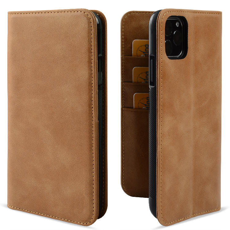 Leather Cover Premium Genuine Leather For iPhone 11