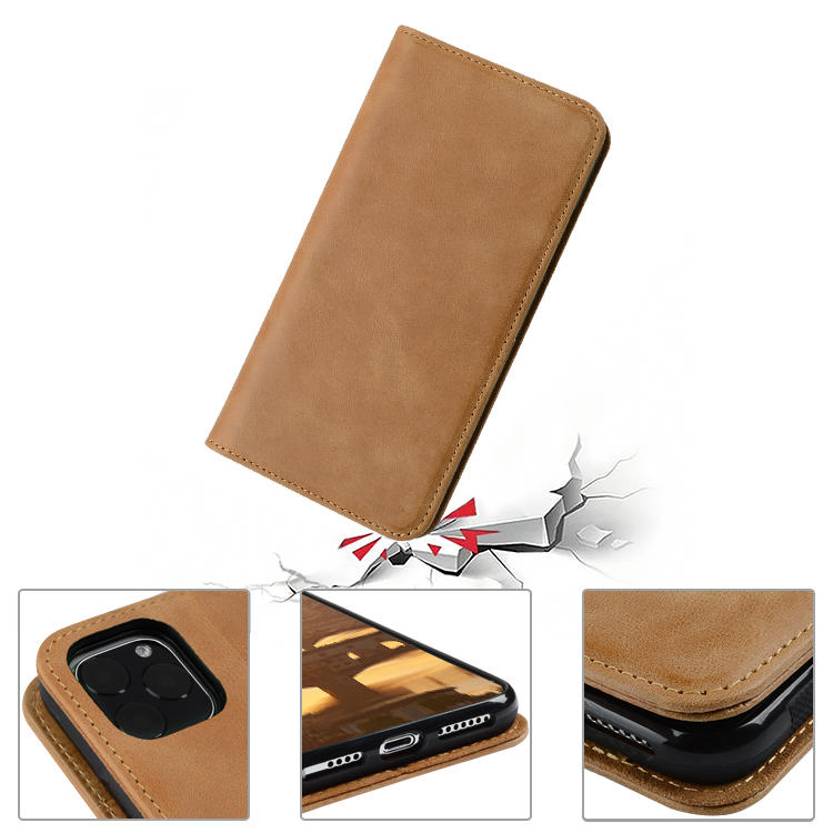 durable leather cell phone case pure for iPhone AIVI