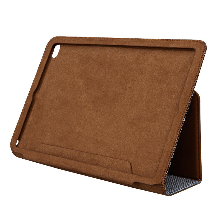 Handmade Luxury Genuine Cow Leather Smart Cases For Ipad  Leather  Case