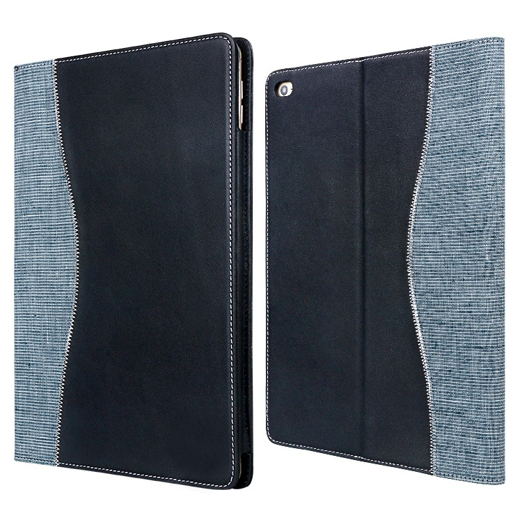 beautiful black leather ipad case factory for computer-3