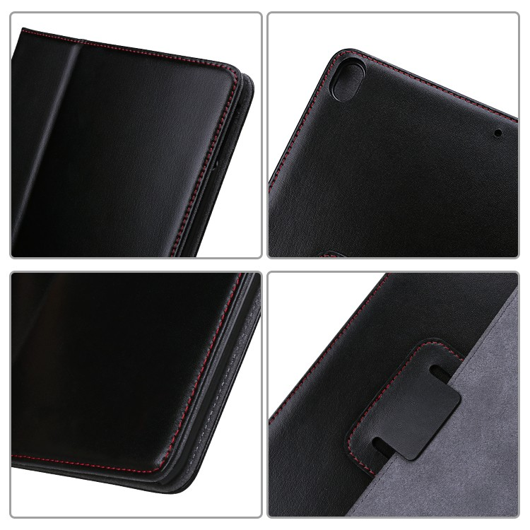 fashion real leather ipad case cow online for IPad-5
