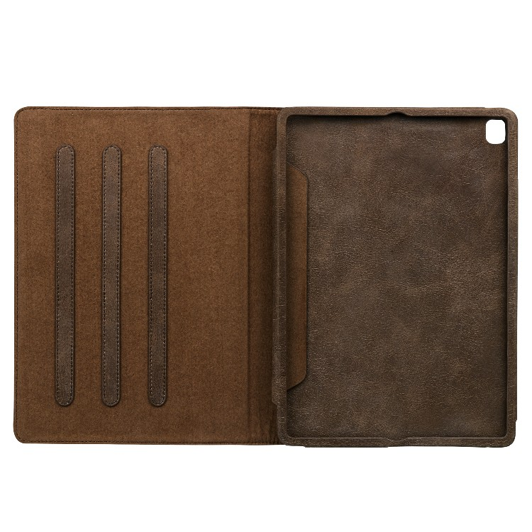 Ultrathin genuine leather material For Ipad Leather Case-4