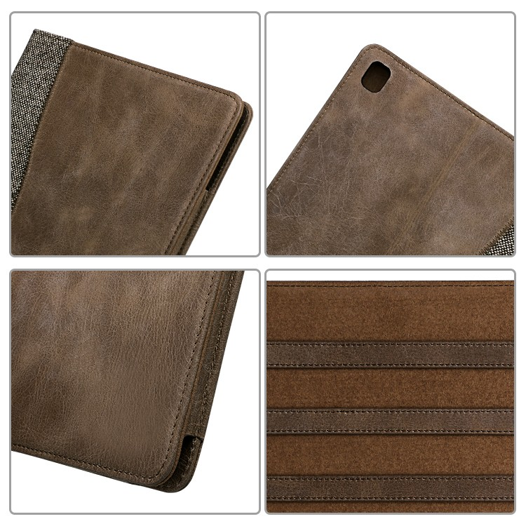 Ultrathin genuine leather material For Ipad Leather Case-5