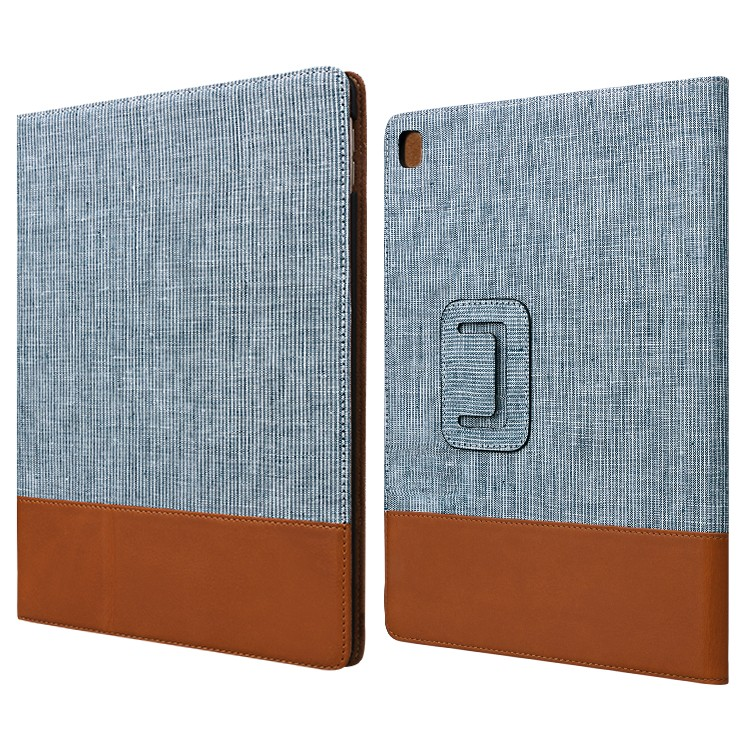 AIVI high quality black leather ipad case online for IPad-2