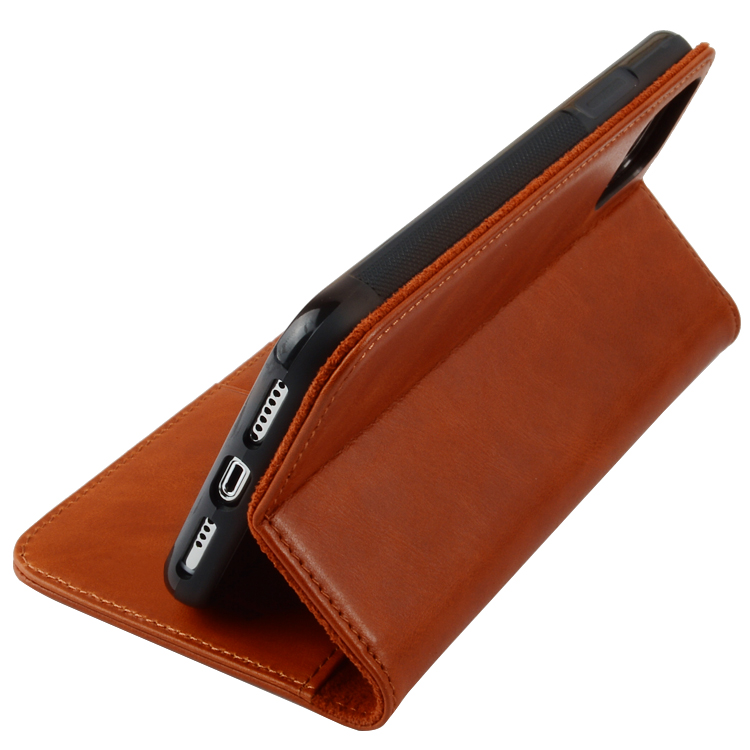 Premium Leather iPhone Case Flip Cover Case For iPhone 11-8