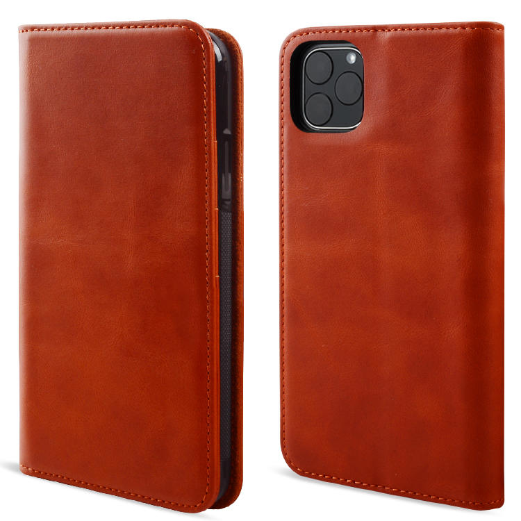 Leather Cover Premium Genuine Leather For iPhone 11 Case Luxury