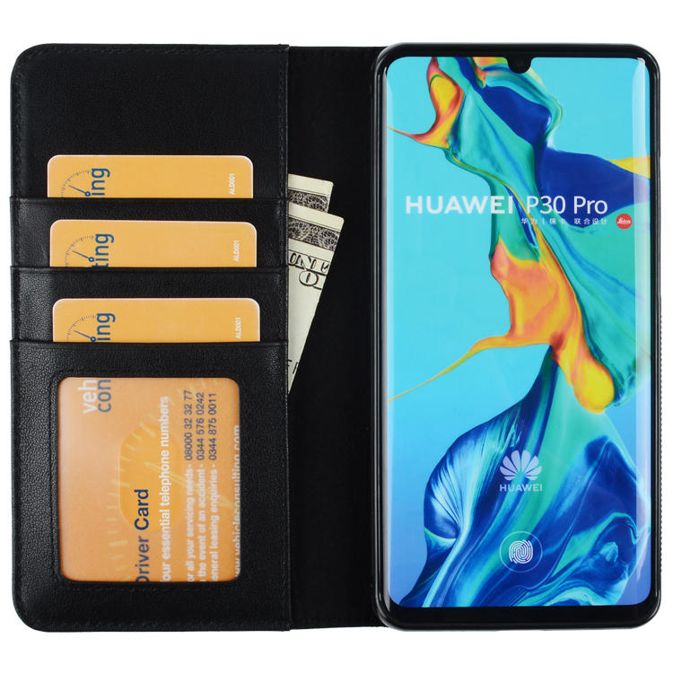 Luxury GenuineLuxury Genuine Leather Protective Case For HUAWEI P30For HUAWEI P30