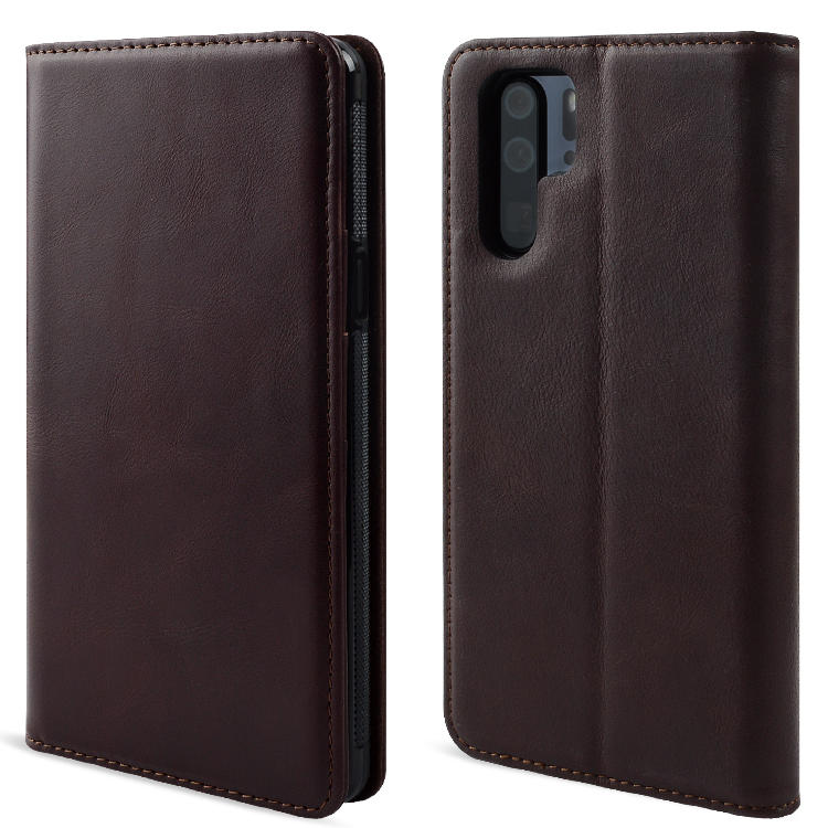 Custom Leather phone Case Pure handmade for HUAWEI P30