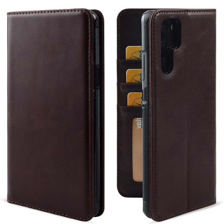 Custom Leather phone Case Pure handmade for HUAWEI P30