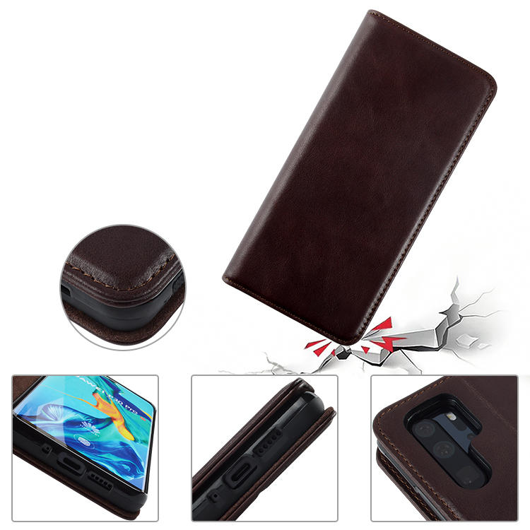 reliable leather phone cases factory for Huwei