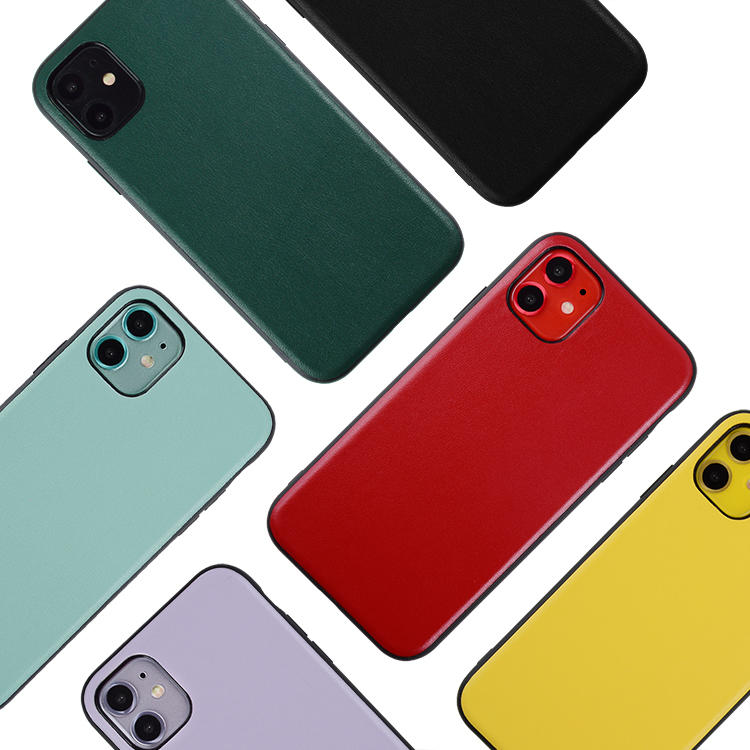 OEM genuine leather cell phone case Mobile phone case for iphone 11 pro Case leather accessories