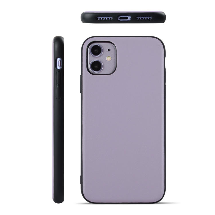 Stick real genuine leather case for Apple For iPhone 11
