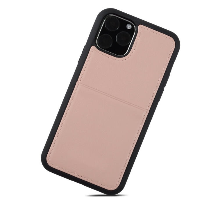 High quality 6.1 inch Genuineleather slimLeather phone Case For Iphone 11