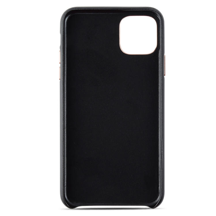 Luxury High Quality Genuine Leather Fully Wrapped Back Phone Case For iPhone 11