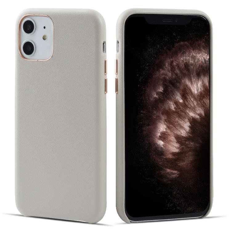 For iPhone 11 Soft Genuine Leather Mobile Phone Case